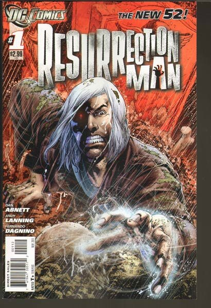 New 52 : Resurrection Man