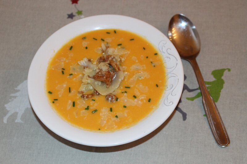 velouté courge