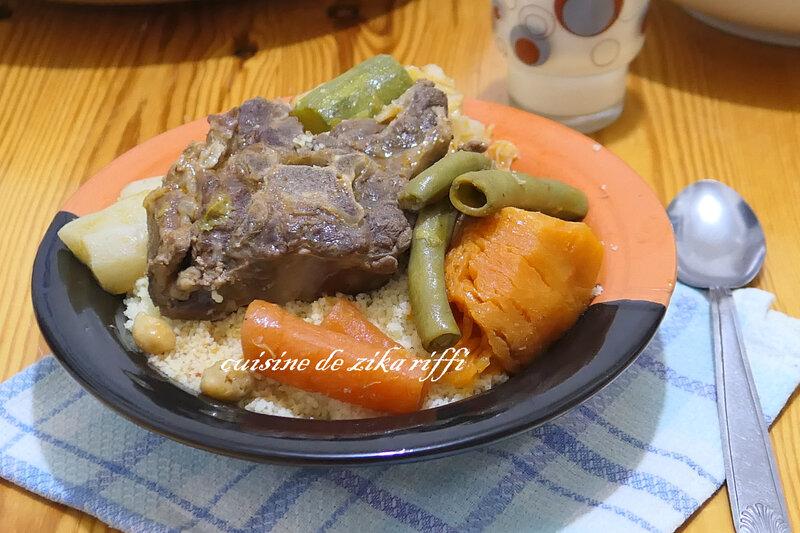 couscous printemps agneau fèves tendres et légumes