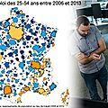Normandie endormie: l'emploi c'est pour les metropoles de l'ouest et du sud