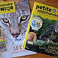 Février-mars avec salamandre junior et la petite salamandre + concours / cadeaux