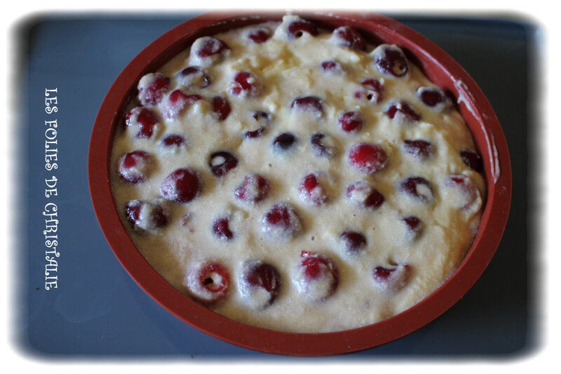 Gâteau cerises 7