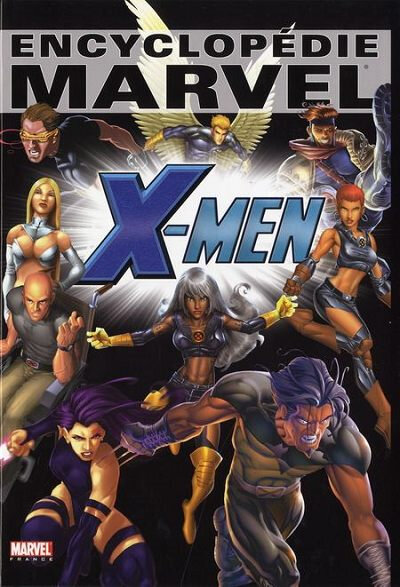 encyclopédie marvel 4 x-men