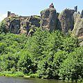 Le château d'arlempdes en haute-loire