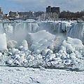 -50° aux etats-unis : spectaculaire les chutes du niagara complètement gelées