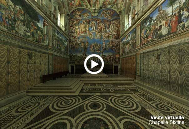 Visite virtuelle chapelle sixtine