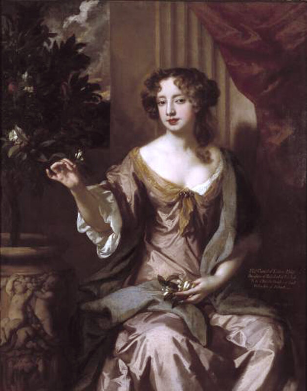 schilderij-lely-elizabeth-countess-of-kildare-c1679