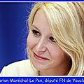 Marion maréchal-le pen sur bfm tv et rmc le 27/06/2016
