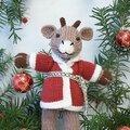 Traduction santa reindeer - barbara prime - fuzzy mitten