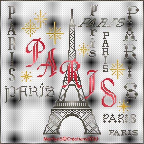 Paris en broderie amies brodeuses c - Broderie traditionnelle grille gratuite ...