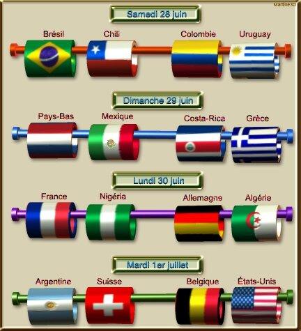 018-mondial-football-2014-calendrier-huitièmes-finale