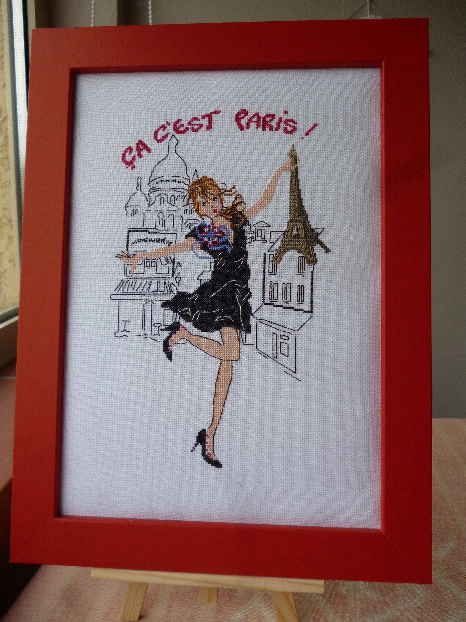 """Finition de """"Ca c'est Paris"""" de Isabelle Haccourt Vautier"""