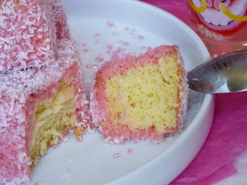 lamington rose