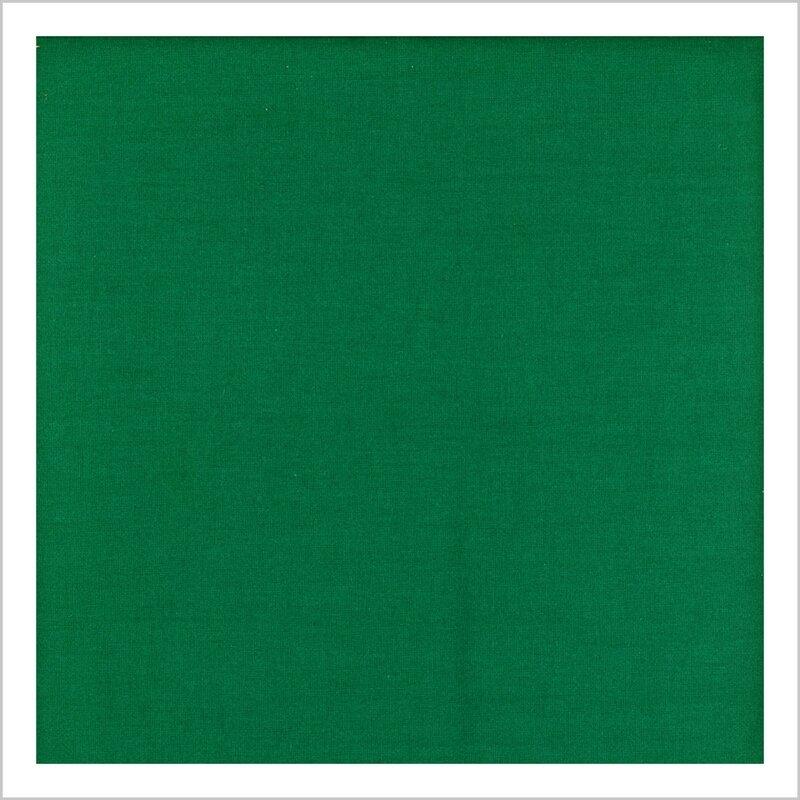 Popeline vert émeraude