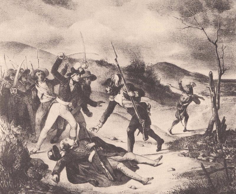 Mort de La Rochejaquelein