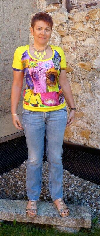 T-shirt porté 1