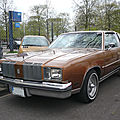 Oldsmobile cutlass supreme 2door coupé brougham 1979