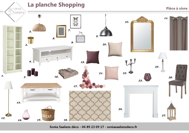 Planche Shopping - Page 1