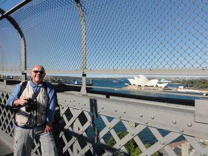 Sur le Harbour Bridge (2)