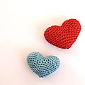 Tuto amigurumi : un joli cœur pour la fête des mères