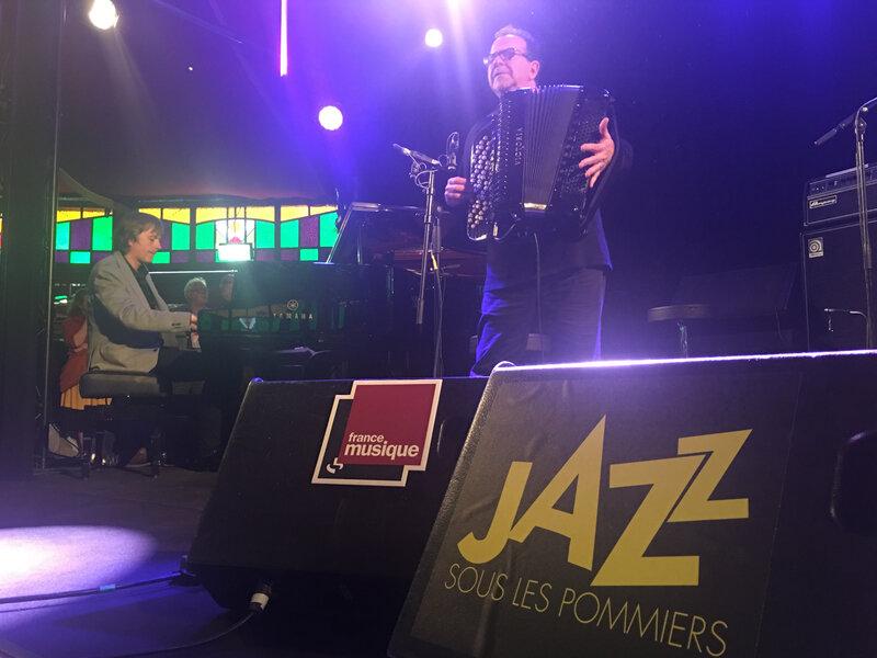 festival_jazz sous les pommiers_2018_Richard Galliano_magic mirror_Coutances