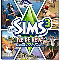 Add on les sims 3 - iles de rêve