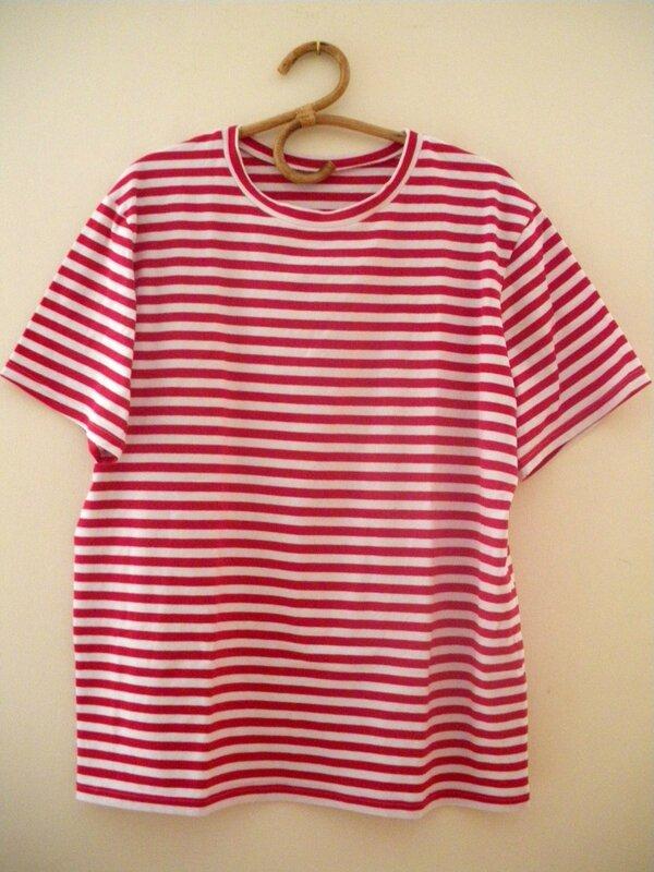 Tshirt rayé (1)