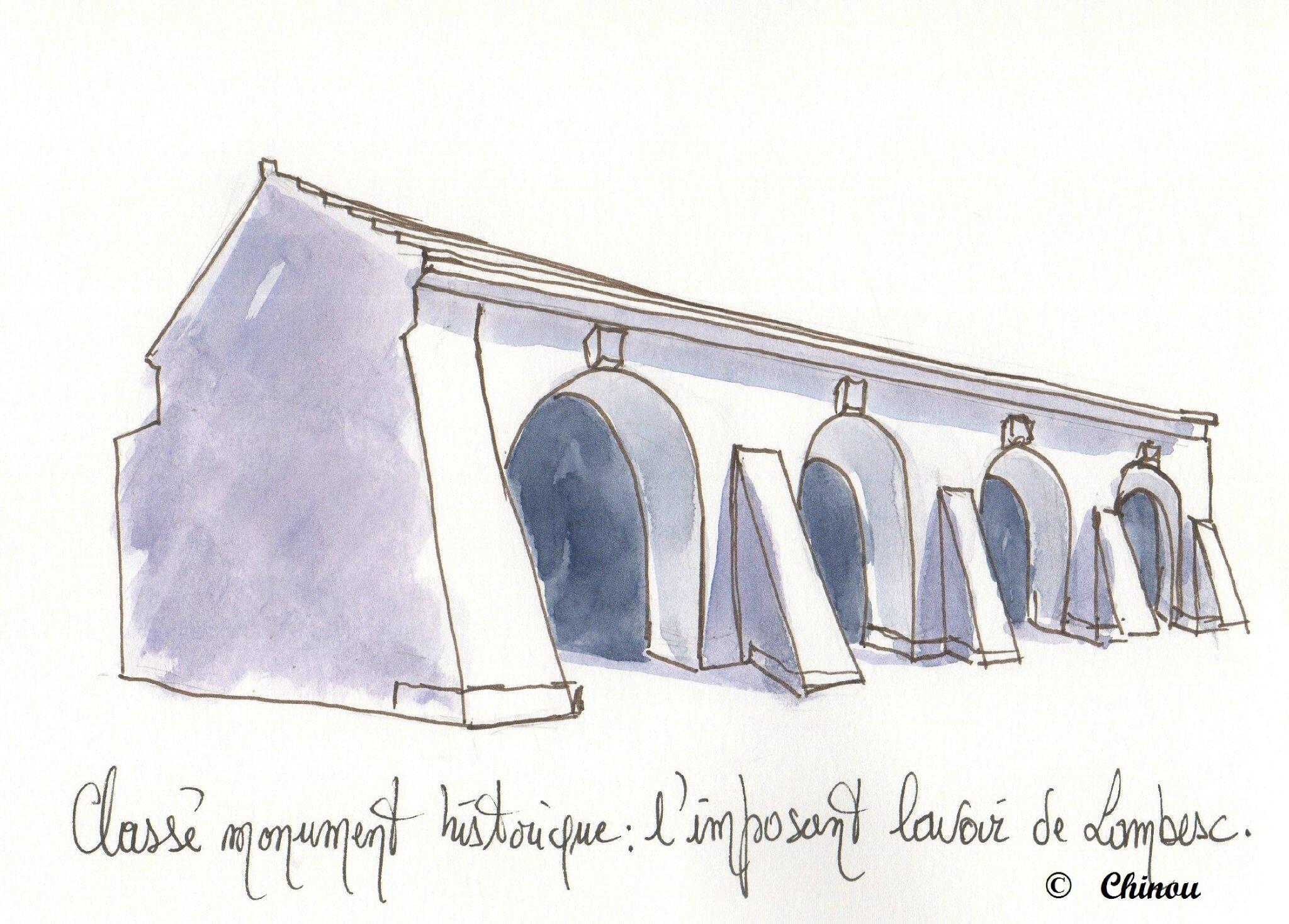 Lambesc lavoir