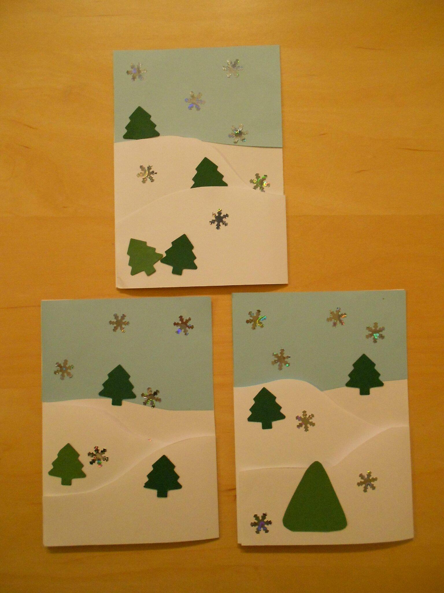 Nos cartes de Noël 2012