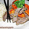 0729 Wok de boeuf aux carottes gingembre couv