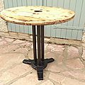Ancien table bistrot
