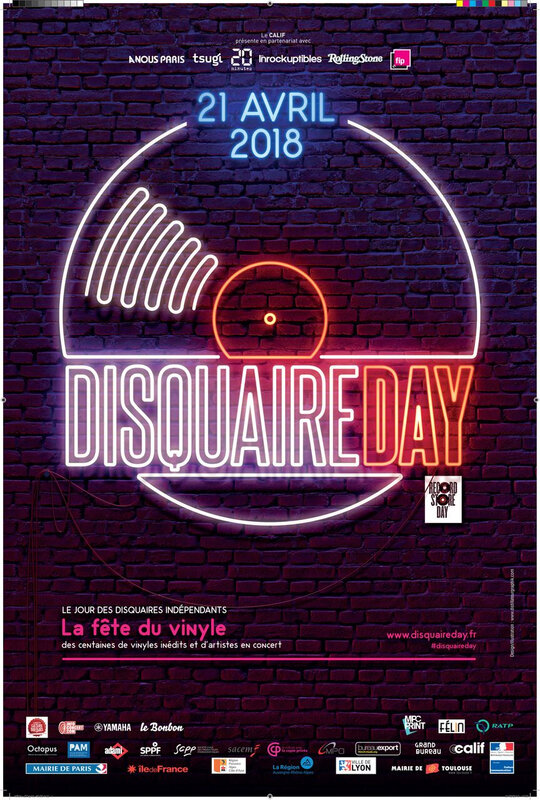 Disquaire Day-2018 -Recordstore Day-affiche-visuel