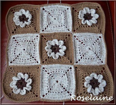 Roselaine198 Coussin Granny