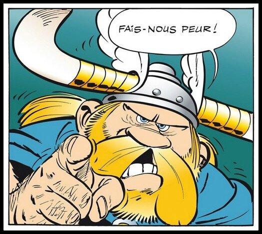 Asterix Grossebaf peur