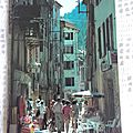 Castellane - rue piétonne du Mitan datée 1982