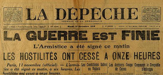 Guerre 1914 1918 - Armistice