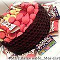 Gâteau bulles au chocolat ...