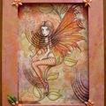 Une fée orange ...