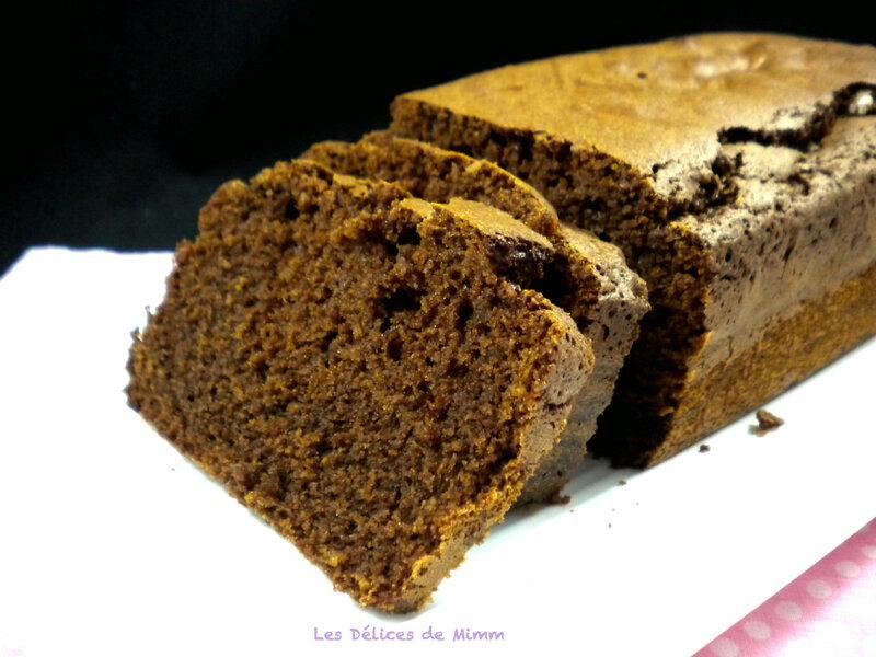 Cake au chocolat et aux amandes 2