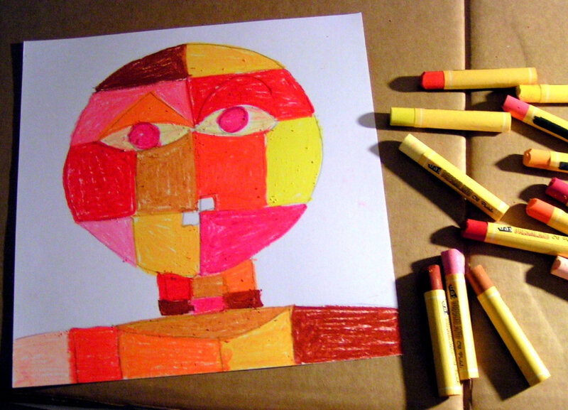 5-Chaud Froid-Portraits inspiration Paul Klee (78)