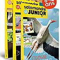 Salamandre junior , magasine 8/12 ans pour les jeunes aventuriers de la nature