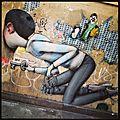 Street art by seth : un globe-painter à paris