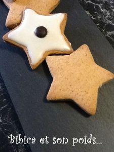 Biscuits de Noël gros plan
