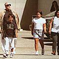 Brando et ses derniers enfants: nina et myles