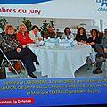 Le jury du salon des metiers d'art