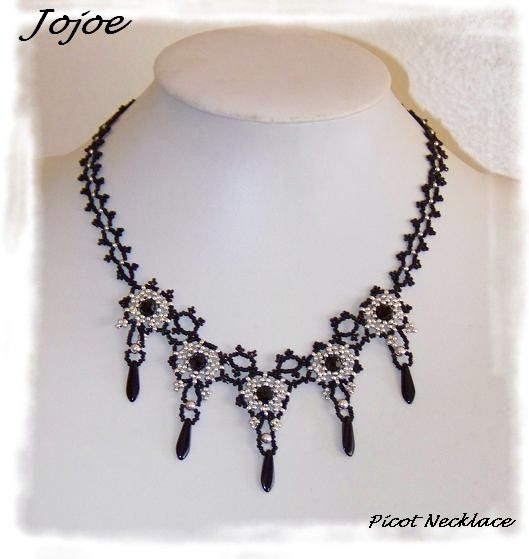 Picot Necklace de Kelly Wiese