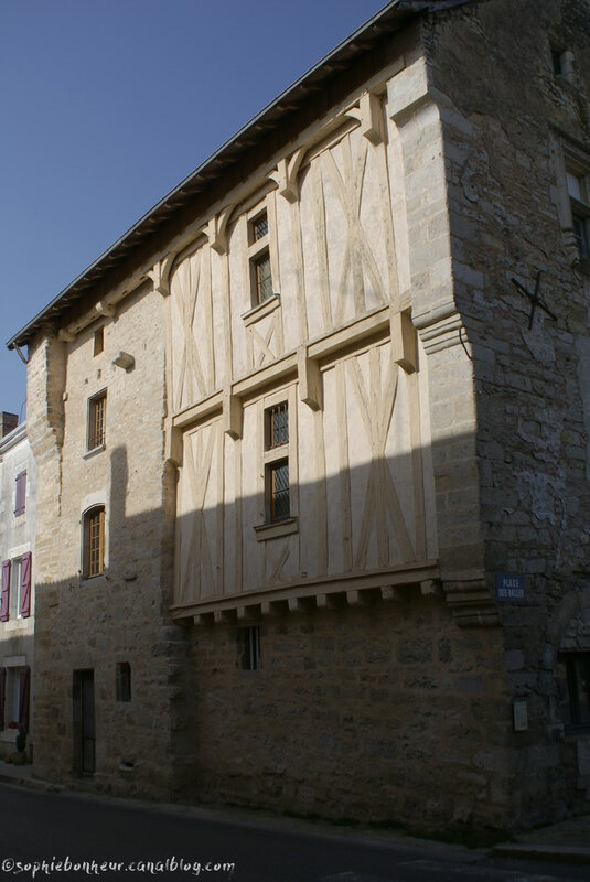 Charroux colombages