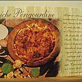 Plat - Quiche Périgourdine