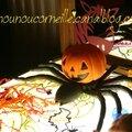 Thème halloween sur la table lumineuse (2013)