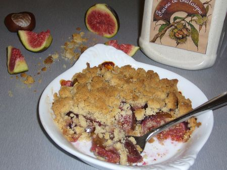 crumble figue chataigne